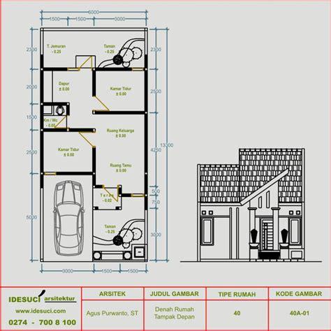 desain rumah tipe  tanah  lantai kamar tidur kamar