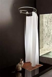 Duschvorhang Für Dachschräge : duschvorhang ber eck badewanne modern koupelny ~ Heinz-duthel.com Haus und Dekorationen