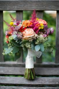 September Wedding Flower Bouquet