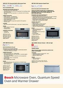 Bosch Oven Carriage User Manual