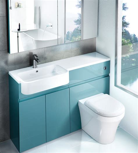 Bathroom Furniture by Aqua Cabinets D300 1200mm Fitted Furniture Pack Uk