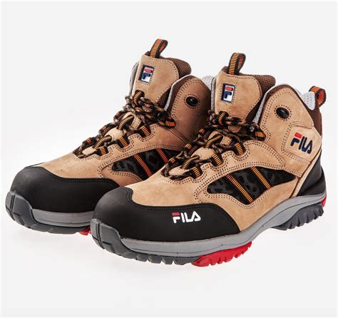 Best Safety Shoes Fila Best Safety Shoes F 60 Work Boots Waterproof Nano Tex