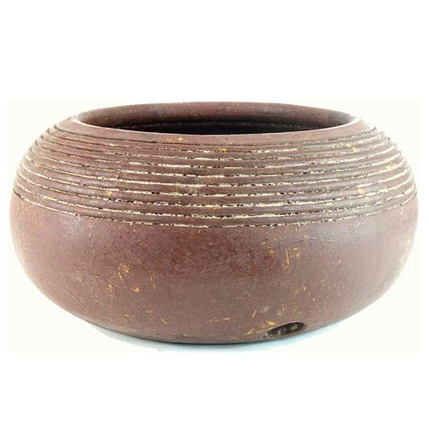 Decorative Garden Hose Pots - pr imports 19 in tecate garden hose pot hp t the home depot