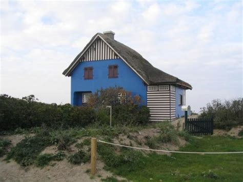 """Das """"blaue Haus""""  Bild Från Heiligenhafen, Schleswig"""