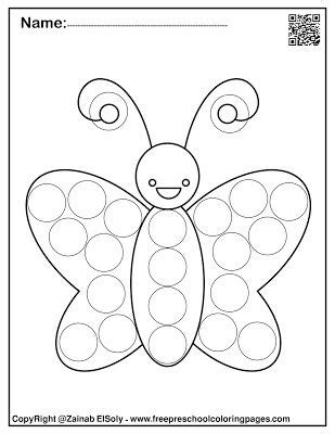 dot marker coloring pages  coloring page blog