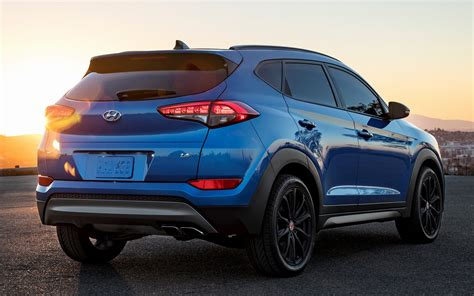 hyundai tucson night  wallpapers  hd images