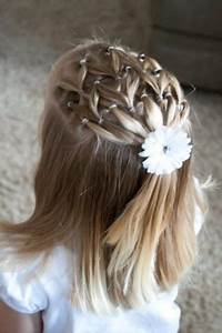 Coiffure Petite Fille Facile : coiffure facile petite fille tendances 2019 ~ Dallasstarsshop.com Idées de Décoration