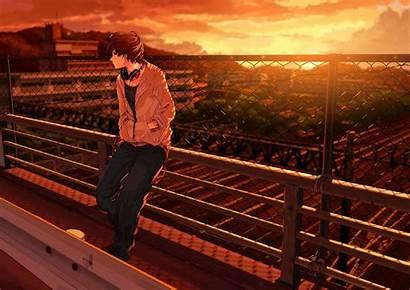 Sad Anime Boy Wallpapertag Amazing Windows