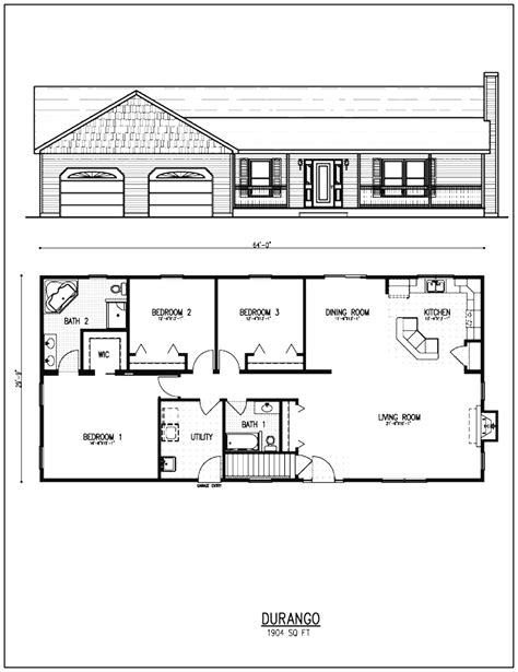 house with open floor plan floor plans small houses ranch style home rancher house