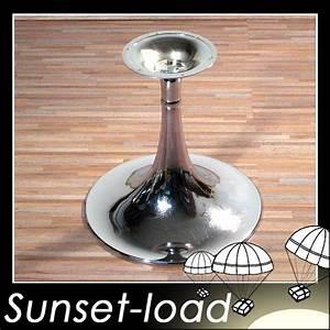 Tv Tisch Drehbar : trompeten tisch untergestell chrom 2 drehbar tv fu ebay ~ Indierocktalk.com Haus und Dekorationen