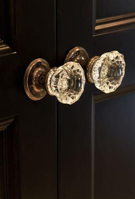 crystal door knobs ideas  pinterest vintage