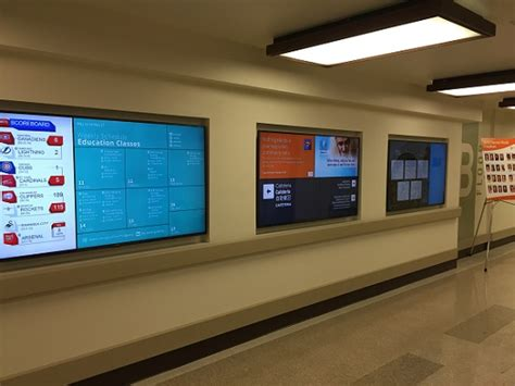 northridge hospital operates digital signage blog