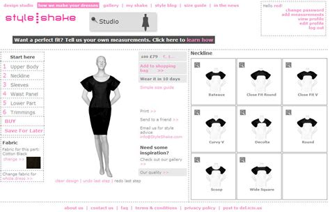 make your own clothes design styleshake design and produce your own dress and