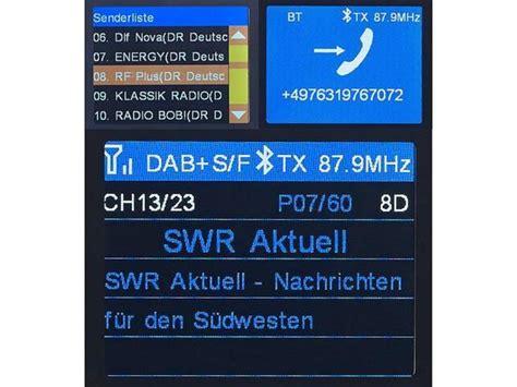 auvisio auto kfz dab fm transmitter von norma fuer
