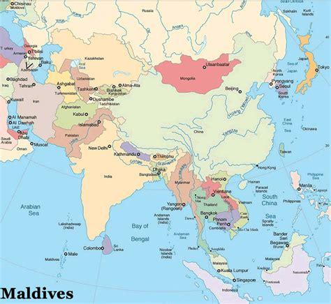 Carte Du Monde Avec Maldives by Ou Se Trouve Les Maldives Sur La Carte Du Monde