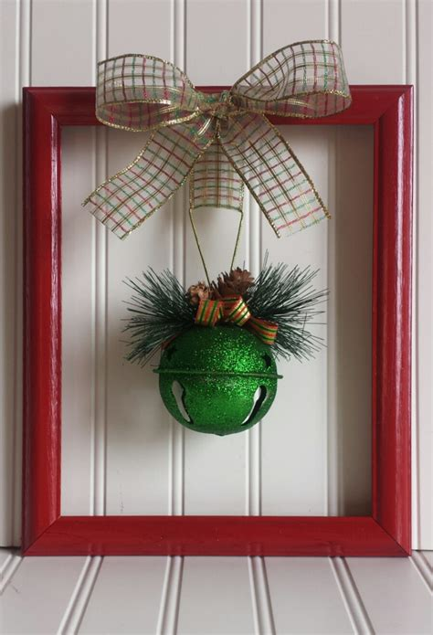 diy wire frame christmas decorations picture frame wreath by oddsnendsbyaly on etsy