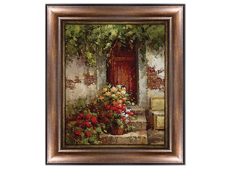 raymour and flanigan wall floral doorway canvas wall raymour flanigan 7630