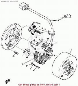 Yamaha Dt175a 1974  1975 Flywheel Magneto