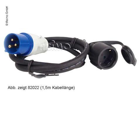 cee adapterkabel schuko stecker cee kupplung 820212 cee adapterkabel schuko kupplung cee stecker 3x2 5mm 40cm