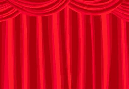 Curtain Clipart Homestuck Stage Opening Transparent Open