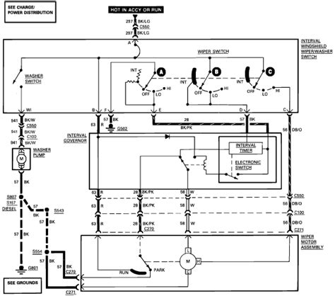 Ford F 150 Wiper Motor Wiring by We A 1989 F150 With A Wiper Motor Problem My Husband