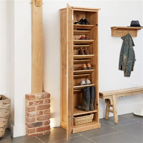 Oak Shoe Cupboards by Mobel Oak Shoe Cupboard Wooden Furniture Store