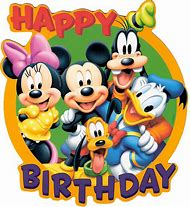 Disney Mickey Mouse Happy Birthday