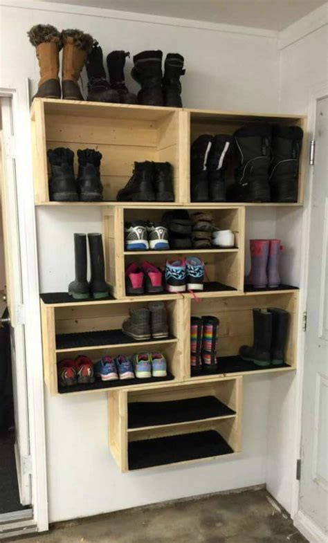 ideas for storing cds 20 diy shoe storage ideas moment