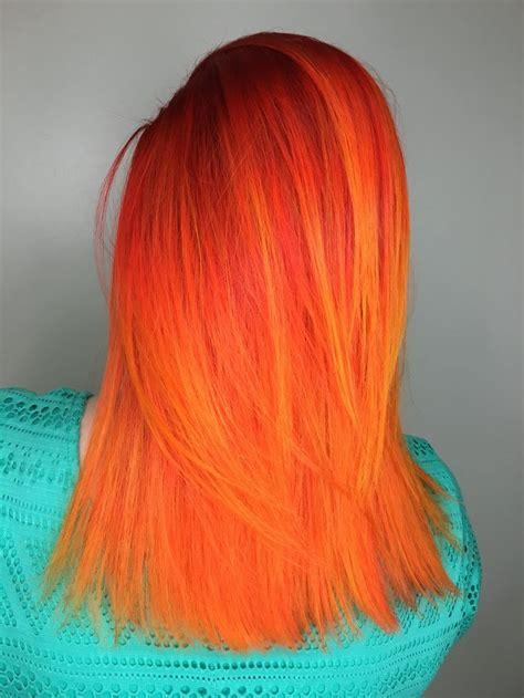 Best 25 Orange Hair Dye Ideas On Pinterest Fire Hair