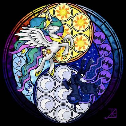 Glass Stained Mlp Deviantart Amethyst Akili Sisters