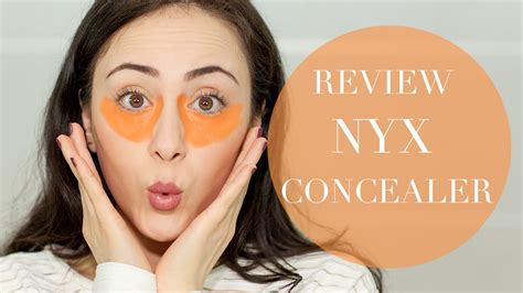 Nyx Concealer Orange Review  First Impression