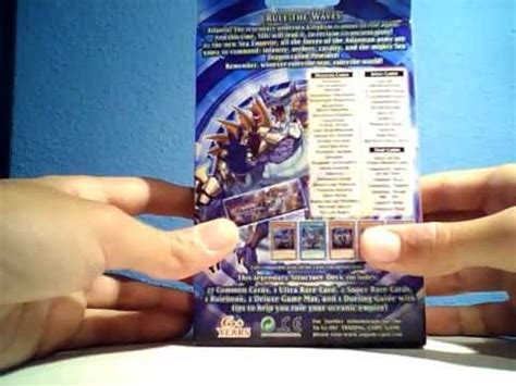 The Emperor Structure Deck Opening by Best Yugioh Realm Of The Sea Emperor Structure Deck
