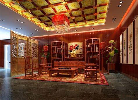 Chinese Interior Design Living
