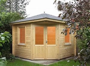 Haus Bausatz Holz : 5 eck gartenhaus 300x300cm holzhaus bausatz doppelt r 44 mm wandst rke vom garten fachh ndler ~ Whattoseeinmadrid.com Haus und Dekorationen