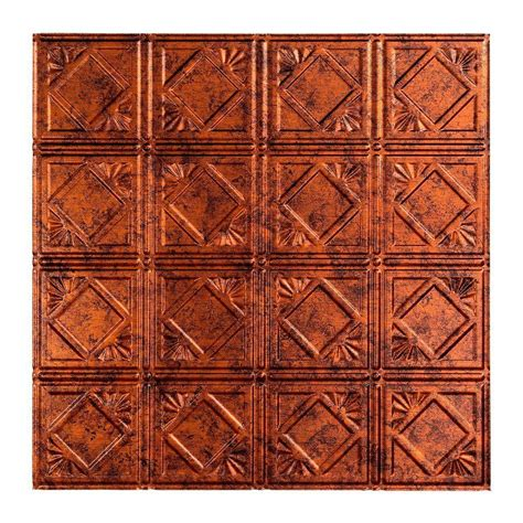 fasade ceiling tiles home depot fasade traditional 4 2 ft x 2 ft lay in ceiling tile