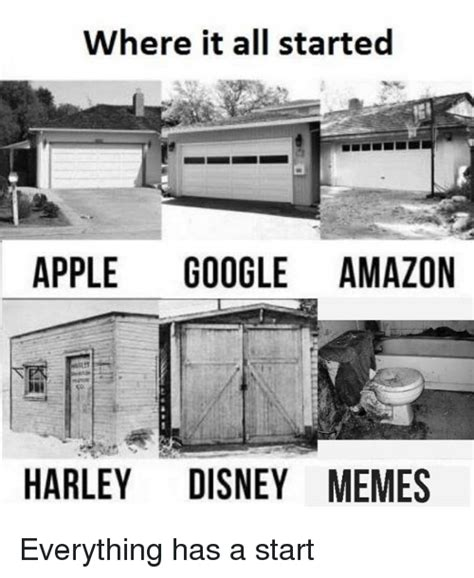When Did Memes Start - where it all started apple google amazon harley disney memes everything has a start amazon
