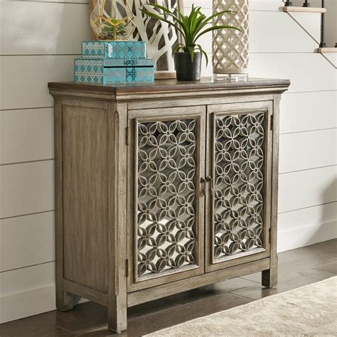 liberty furniture westridge  door accent cabinet