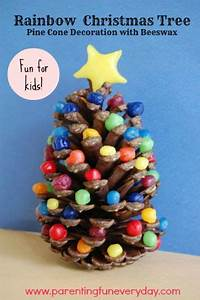 Try this easy christmas craft for kids to make a rainbow