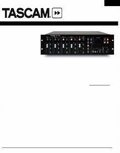 Tascam Stereo Amplifier Av