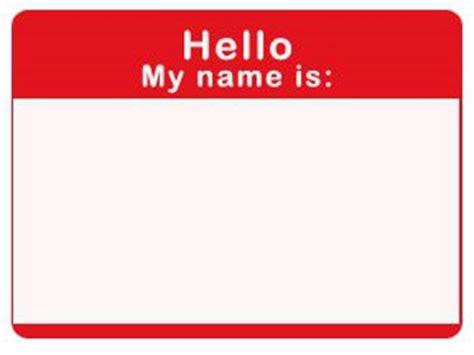 Name Badge Template Name Badge Template Cyberuse