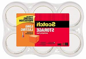 3m Scotch Moving Storage Packing Tape Heavy Duty