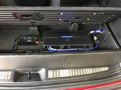 chevy tahoe subwoofer box installation  jl audio