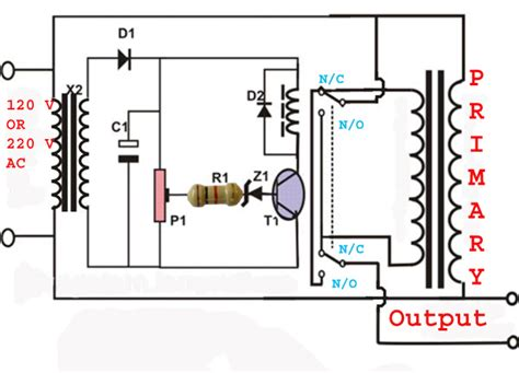 automatic voltage stabilizer uap project school