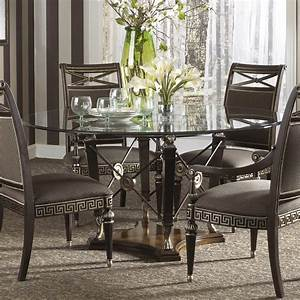 dining room tables oval round tempered glass top dining With glass topped dining room tables