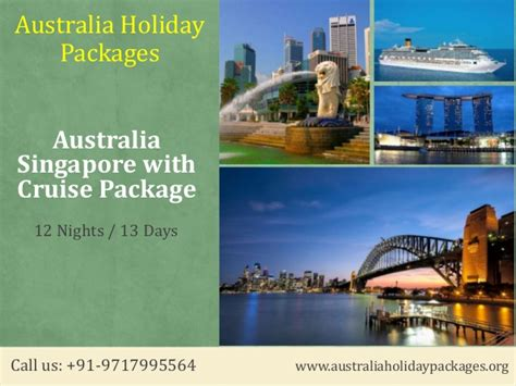 Australia Singapore With Cruise Holiday Tour Packages