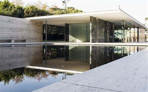 Mies Der Rohe Barcelona Pavillon by From Le Corbusier To Lecoultre Exploring The Links