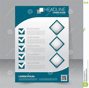 Abstract Flyer Design Background  Brochure Template  Stock