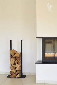 Kaminholzregal Für Wohnzimmer : ber ideen zu kaminholzregal auf pinterest kaminholzregal metall brennholzregal und stahl ~ Sanjose-hotels-ca.com Haus und Dekorationen
