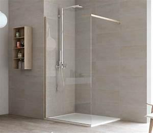 Paroi Douche Verre Sablé : paroi de douche materia fixe italienne verre securite 6 ~ Premium-room.com Idées de Décoration