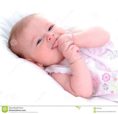 Teething Baby Stock Photos Image 5487063